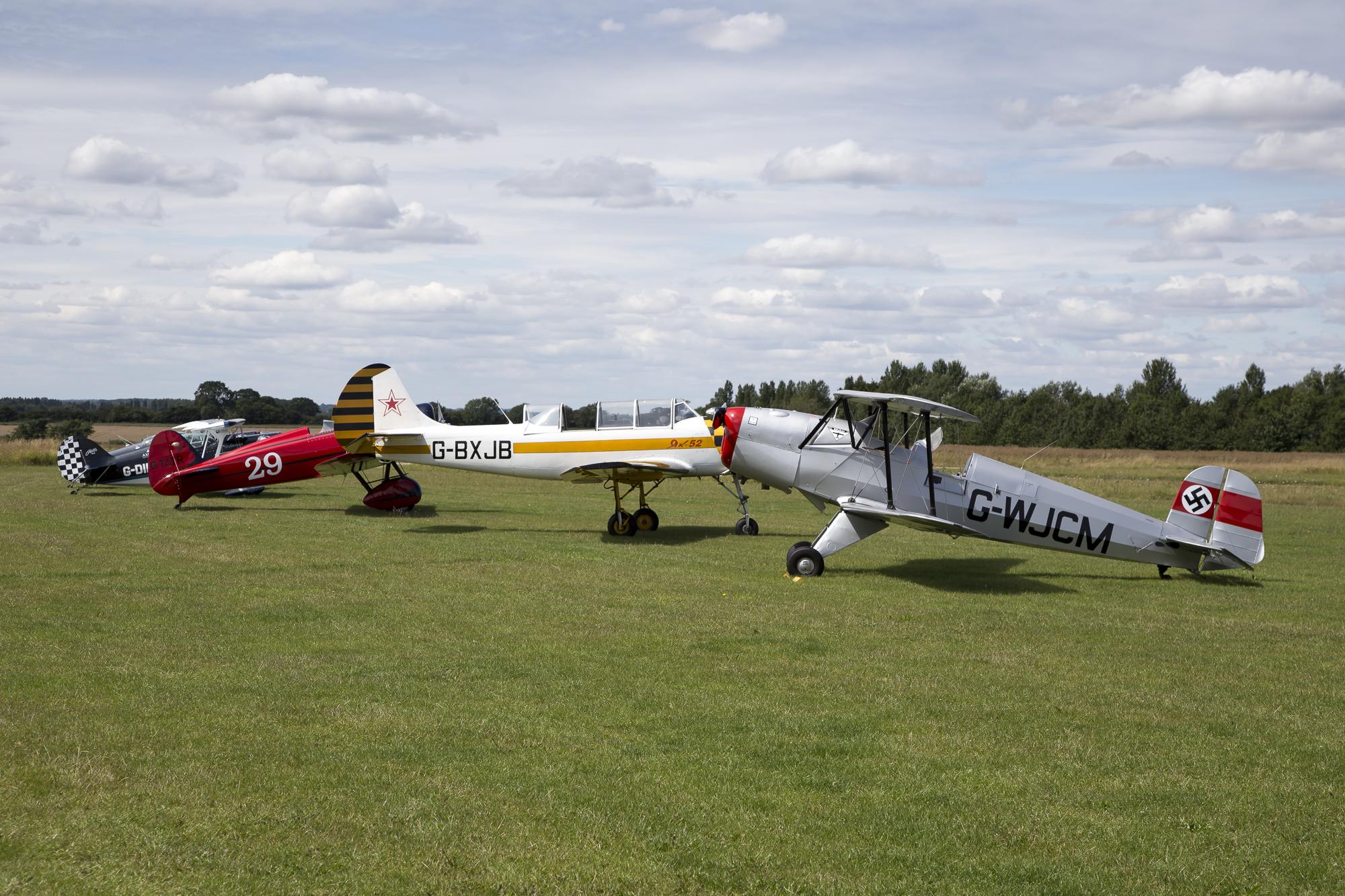 © Adam Duffield • Display Aircraft Lineup • Old Buckenham Airshow 2015