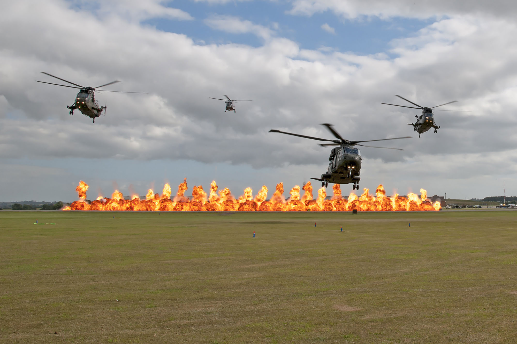 © Duncan Monk • Commando Role Demonstration Finale • Yeovilton Air Day 2015