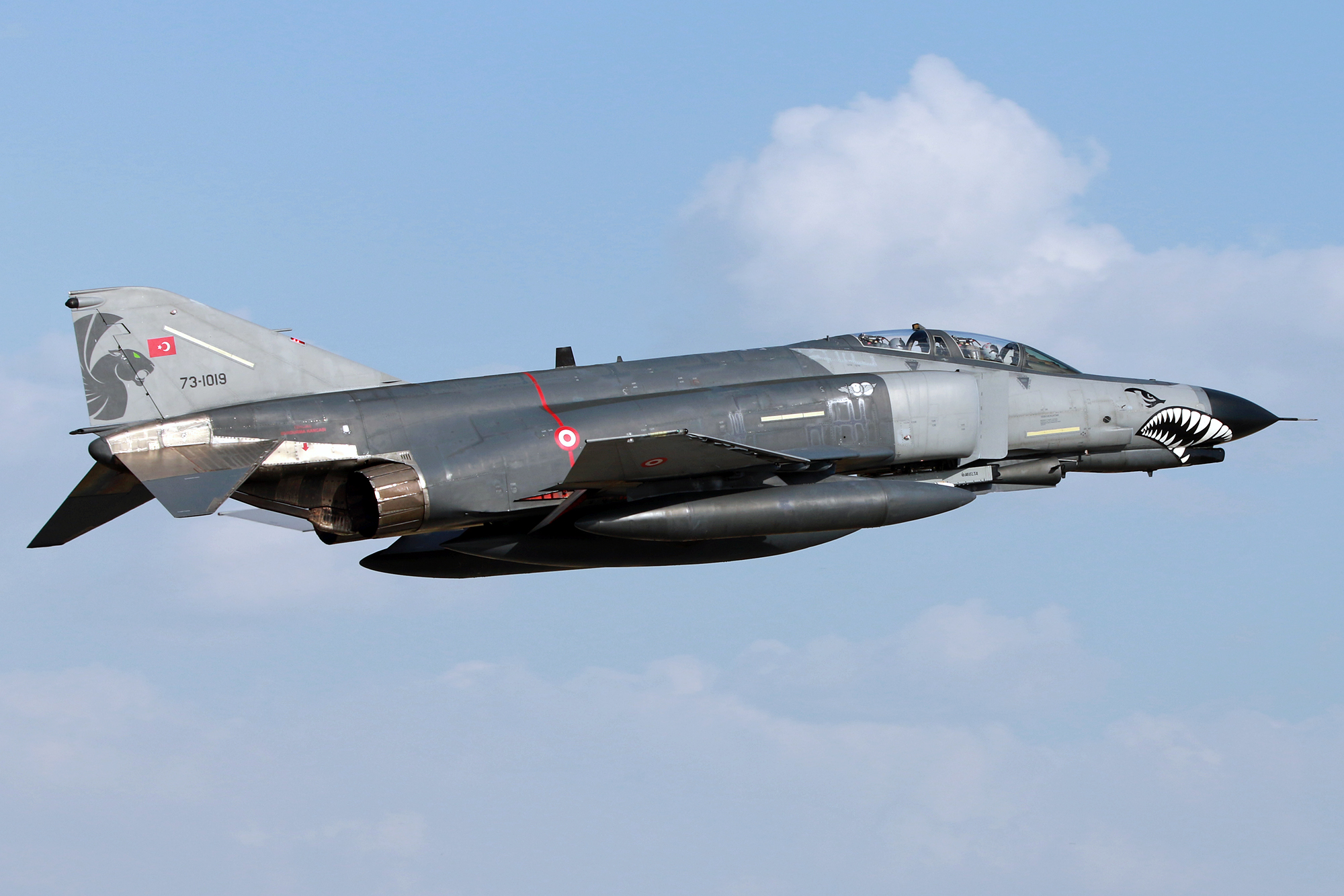 © Mark Kwiatkowski • TuAF F-4 Phantom 73-1019 • Anatolian Eagle 2015
