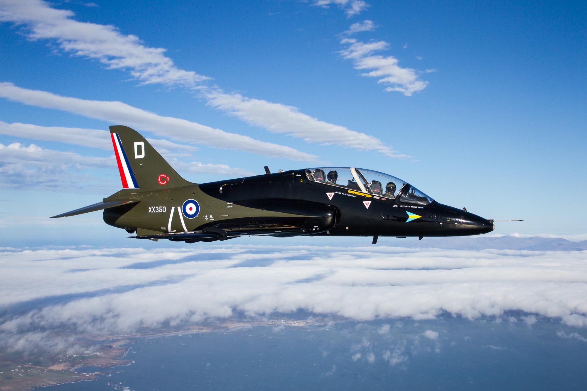 © Paul Heasman • BAe Hawk T1 XX350 • RAF Special Schemes 2015
