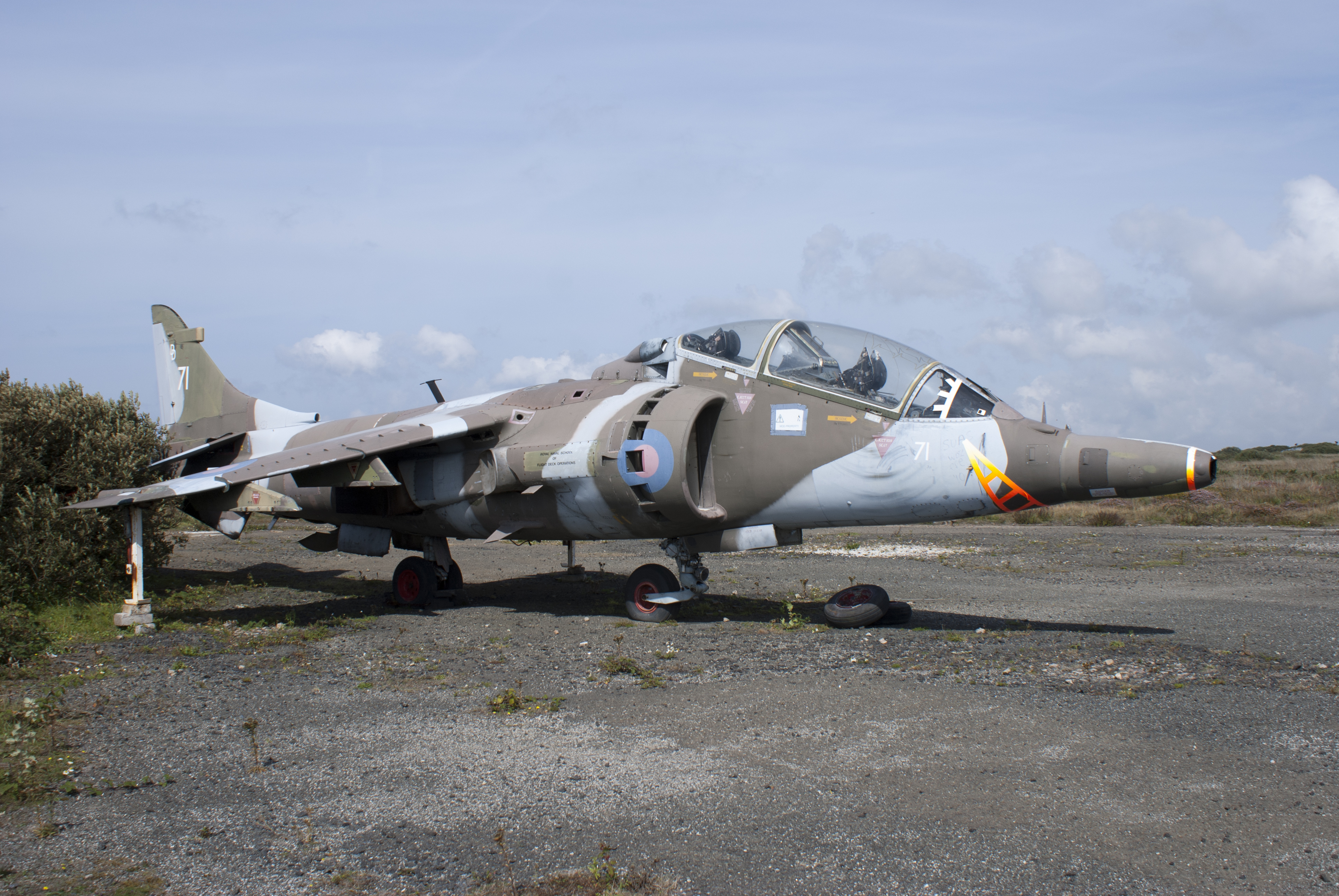 Hawker Siddeley Harrier T4a Xw271 Aeroresource Engine Diagram